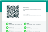 Cara Pasang Whatsapp di PC